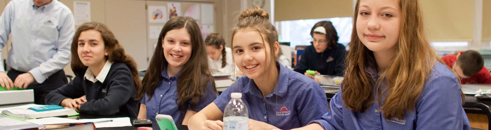 Dayspring Christian Academy Students