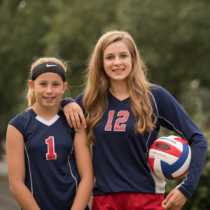 Register for high school girls volleyball at Dayspring Christian Academy.