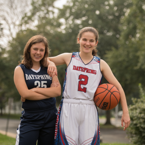 Register for High School Girls Basketball at Dayspring Christian Academy.