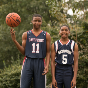 Register for High School Basketball at Dayspring Christian Academy.