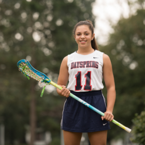 Register for high school girls lacrosse at Dayspring Christian Academy.