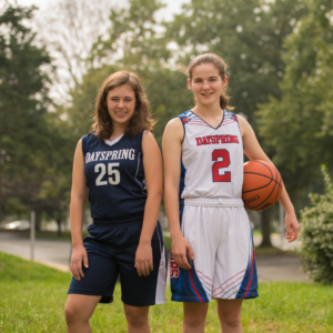Register for middle school girls basketball at Dayspring Christian Academy.