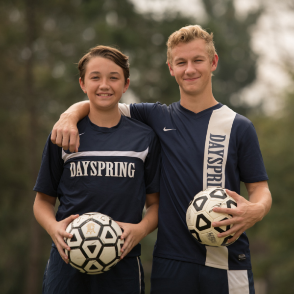Register for Middle School Boys Soccer at Dayspring Christian Academy.