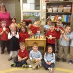 DK students collect food through food drive at Dayspring Christian Academy