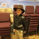 Dayspring christian academy student dresses up for character day during spirit week 2017