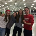 Dayspring Christian Academy students hang out at homecoming 2017