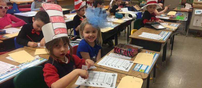 AK students celebrate Dr. Seuss day at Dayspring Christian Academy.