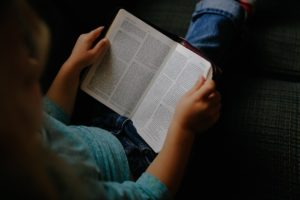 Children learn responsibility when they are directed to God's Word and see what He says about it.