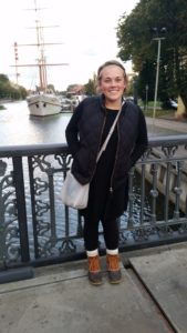 A Dayspring Christian Academy alumna studies abroad in Lithuania.