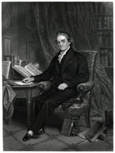 Noah Webster authored the Blue Back Speller, which was filled with biblical references and from which many Americans in the founding era learned to read.