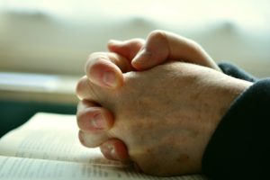 Dayspring parents are encouraged to pray together for their children.