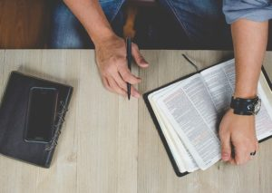 Spending daily time reading the Bible will ensure we keep a solid biblical worldview.