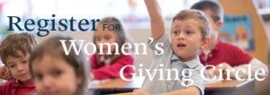 Register for women's giving circle