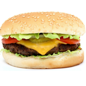Cheeseburger Lunch - Tuesday