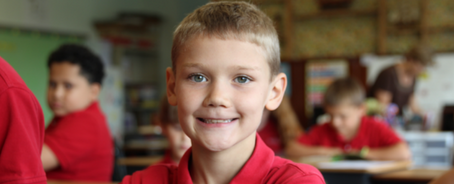 Lower school student at dayspring christian academy