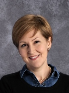 Erin Frick is the director of the Honors High School and English Department Chair