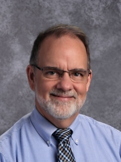 Randy Gehman teaches science classes and is the Science Department Chair