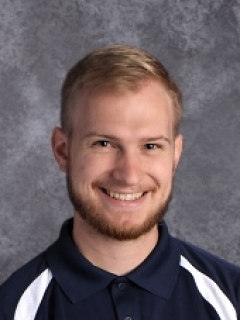 Caleb Onasch is the physical education teacher and athletic administrator