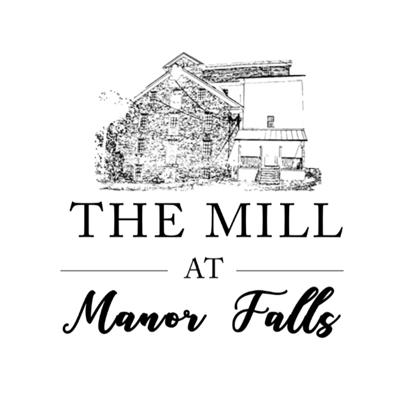 Mill at Manor Falls Lancaster, PA wedding venue logo