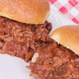 Sloppy Joe Lunch - Friday