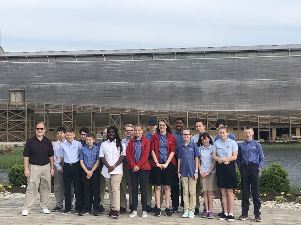 Science and History Field Trip in Christian Middle School