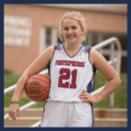 Christian High School Female Basketball Player