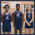 Christian middle School Student track Athletes