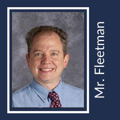 Mr. Fleetman Honors High School Teacher