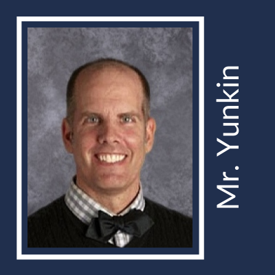 Mr. Yunkin Honors High School Teacher