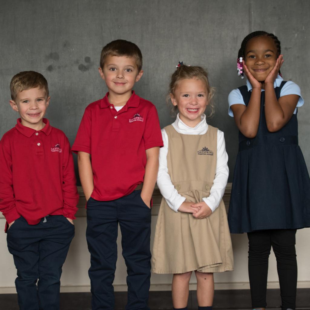Christian Preschool Happy Students Photo Op